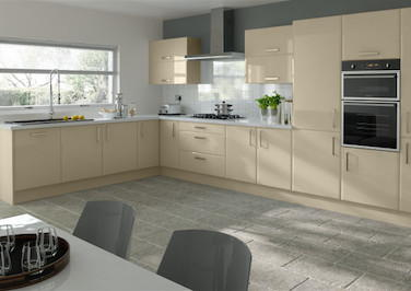 Brighton High Gloss Dakar Kitchen Doors
