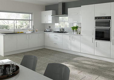 Brighton Paintable Vinyl Kitchen Doors