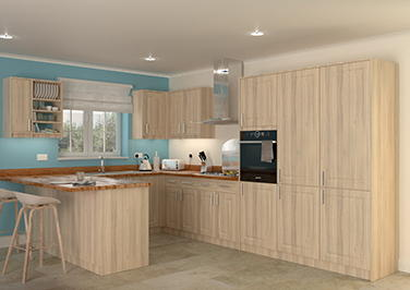 Buxted Acacia Kitchen Doors