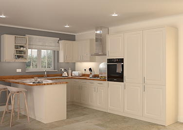 Buxted Beige Kitchen Doors