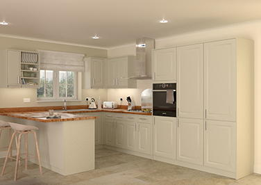 Buxted Ivory Kitchen Doors