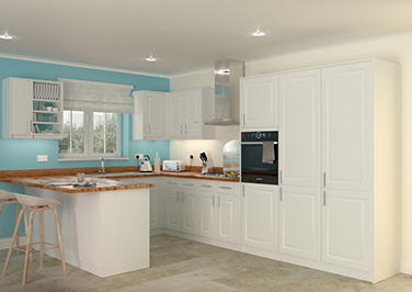 Buxted Legno Linen Kitchen Doors