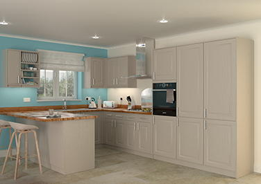 Buxted Legno Stone Grey Kitchen Doors