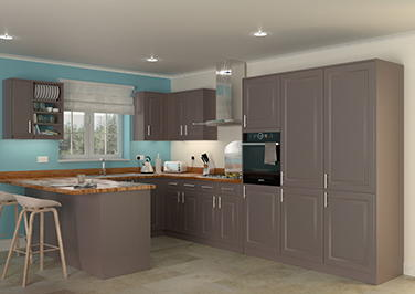 Buxted Melinga Oak Kitchen Doors