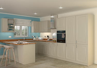 Buxted Olive Kitchen Doors