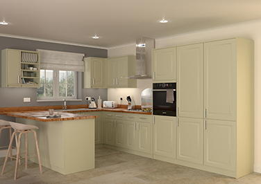 Buxted Vanilla Kitchen Doors