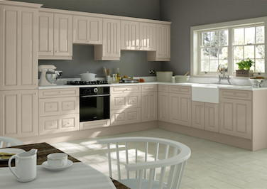 Chichester High Gloss Cashmere Kitchen Doors