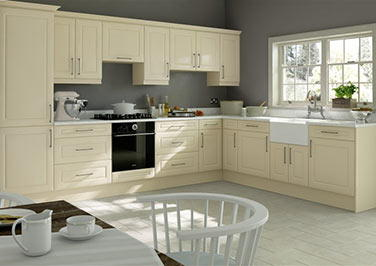 Chichester Legno Magnolia Kitchen Doors