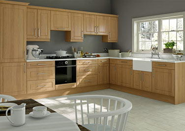 Chichester Lissa Oak Kitchen Doors