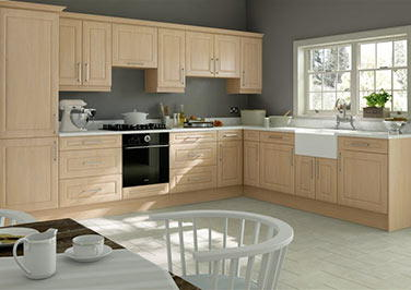 Chichester Montana Oak Kitchen Doors