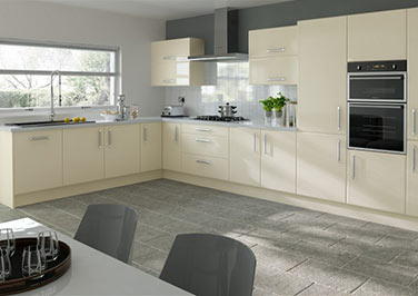 Durrington Ivory Kitchen Doors