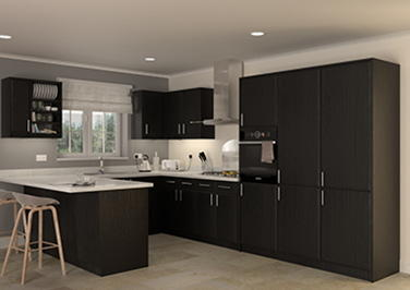 Durrington Legno Jet Kitchen Doors