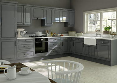 Fontwell High Gloss Anthracite Kitchen Doors