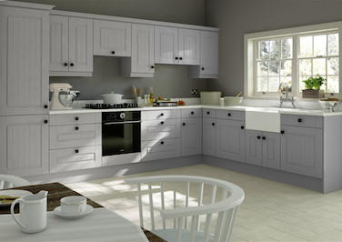 Fontwell Light Grey Kitchen Doors
