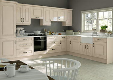 Goodwood Legno Mussel Kitchen Doors