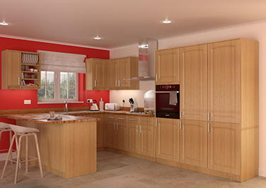 Hartfield Montana Oak Kitchen Doors