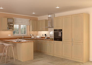 Hartfield Ontario Maple Kitchen Doors