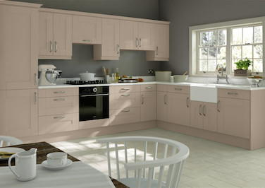 Kingston Matt Cashmere Kitchen Doors