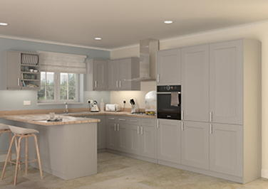 Kingston Legno Quartz Kitchen Doors