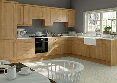 Kingston Lissa Oak Kitchen Doors