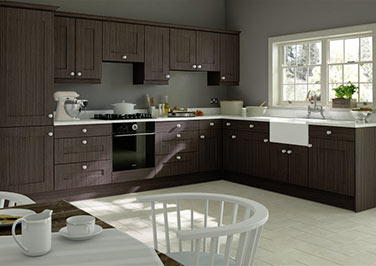 Kingston Melinga Oak Kitchen Doors