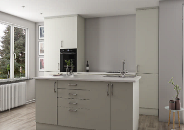Lewes Ivory Kitchen Doors