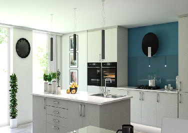 Lewes Legno Quartz Kitchen Doors
