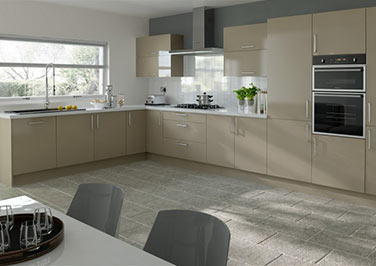 Lewes Olive Kitchen Doors