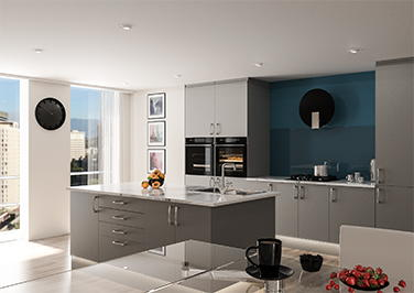 Lewes Pebble Grey Kitchen Doors