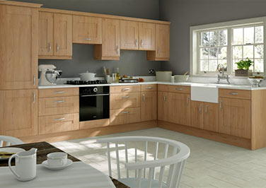 Mayfield Odessa Oak Kitchen Doors