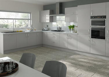 Newick Light Grey Kitchen Doors