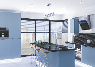 Petworth Denim Blue Kitchen Doors