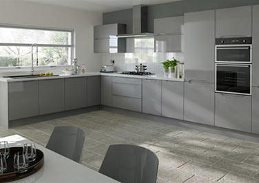 Petworth High Gloss Anthracite Kitchen Doors