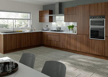 Ringmer Dark Walnut Kitchen Doors