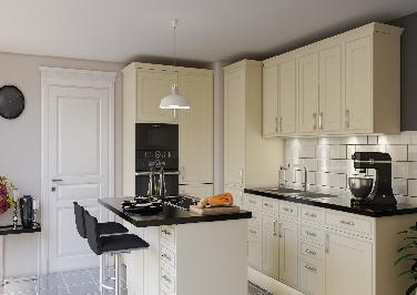 Singleton Cream Kitchen Doors