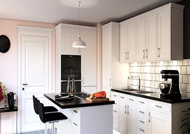 Singleton Paintable Vinyl Kitchen Doors