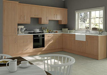 Ticehurst Beech Kitchen Doors