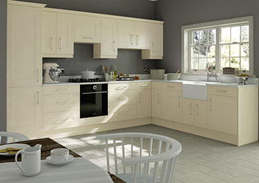 Ticehurst Cream Kitchen Doors