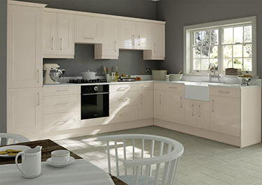 Ticehurst Legno Ivory Kitchen Doors