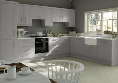 Ticehurst Light Grey Kitchen Doors