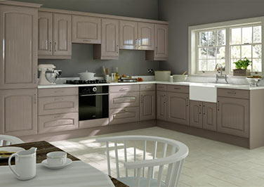 Wadhurst Legno Stone Grey Kitchen Doors