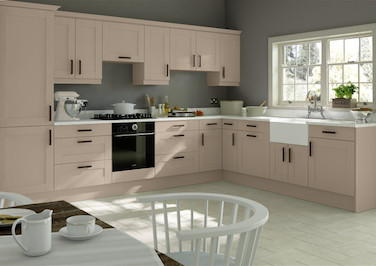 Washington Legno Cashmere Kitchen Doors