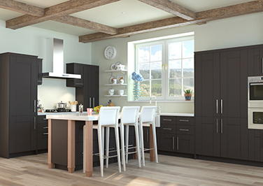 Washington Graphite Kitchen Doors