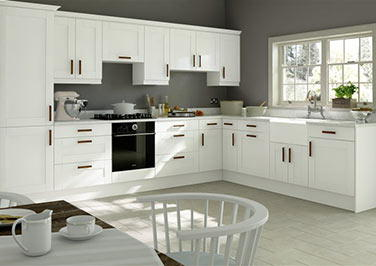 Washington Paintable Vinyl Kitchen Doors