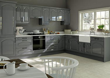 Westfield High Gloss Anthracite Kitchen Doors