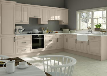 Westfield High Gloss Cashmere Kitchen Doors