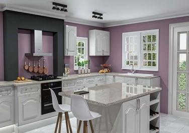 Westfield High Gloss Light Grey Kitchen Doors