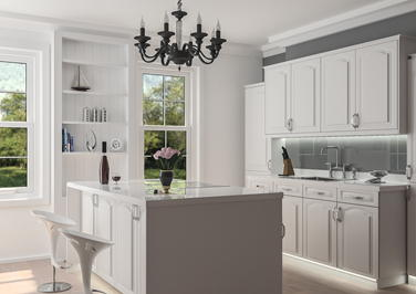 Westfield Silk White Kitchen Doors