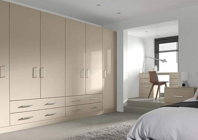 Ultragloss Cashmere Bedroom Doors