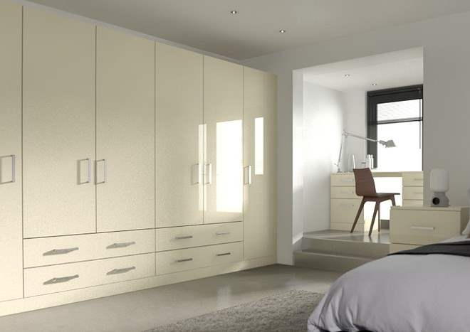 Ultragloss Cream Bedroom Doors